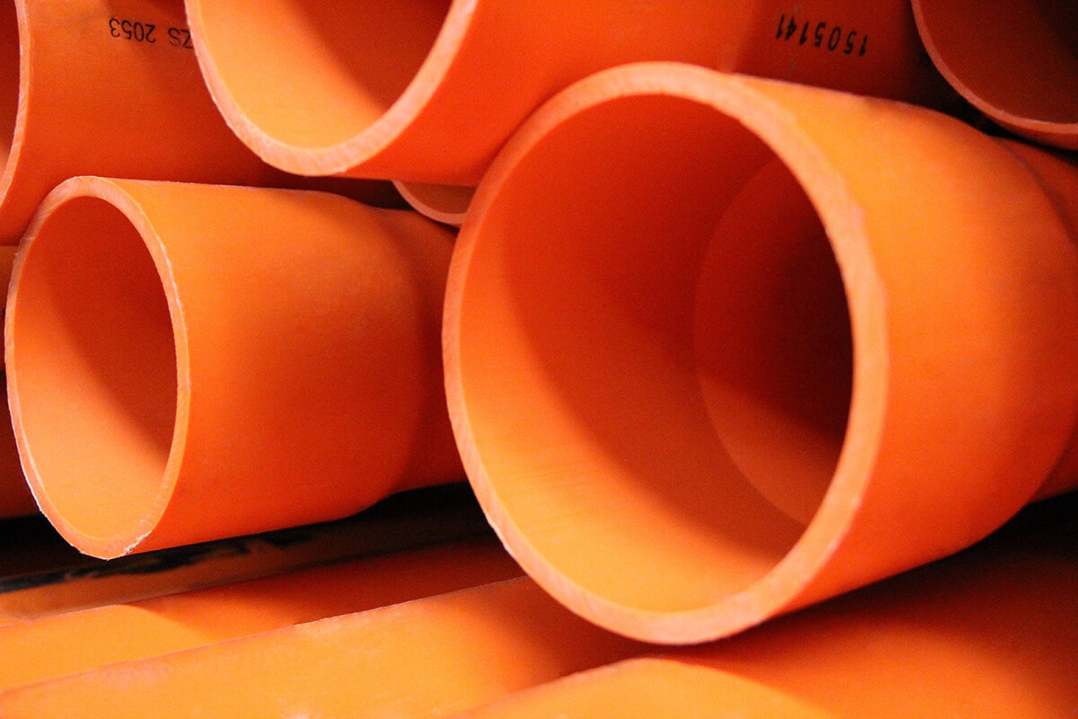 Electrical Conduit - Orange HD Conduit
