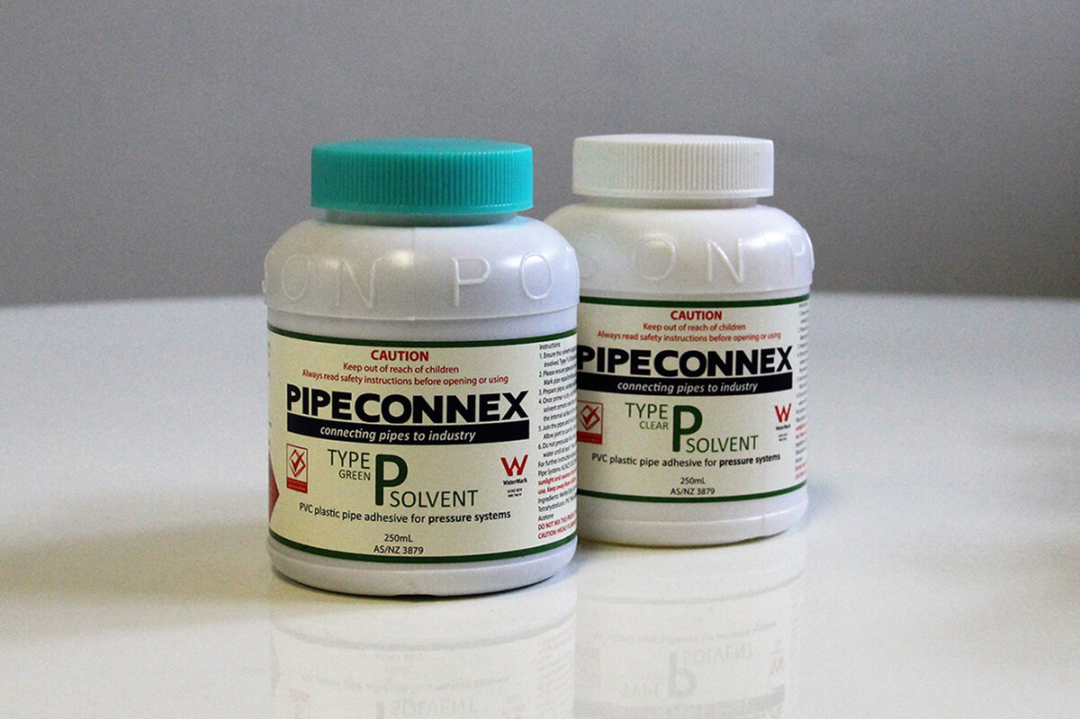 Solvent Cement - Type P - Green and Clear